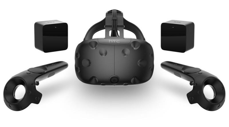 casca htc-vive- VR