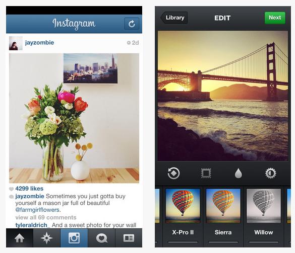 applicatie instagram iphone