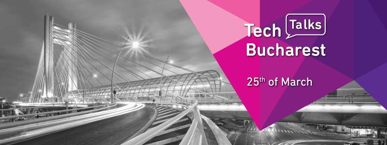 Ultimele zile in care te poti inscrie la TechTalks. Alatură-te comunității IT din București!