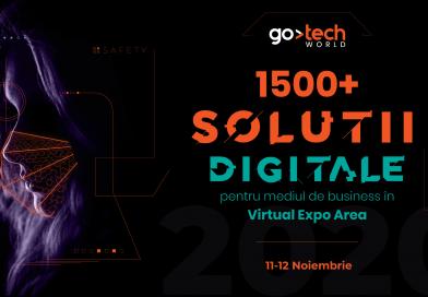 GoTech 2020: The New Reality prezintă peste 1.500 de soluții digitale de business pentru industriile de retail, IT, cybersecurity și marketing
