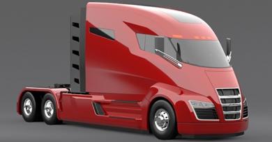 Nikola One, camionul cu motor hibrid capabil să parcurgă distanţe de până la 2000 km fără a fi realimentat