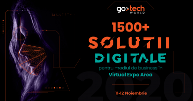 GoTech 2020: The New Reality prezintă peste 1.500 de soluții digitale de business pentru industriile de retail, IT, cybersecurity și marketing